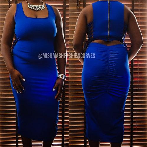 Royal Midi Dress