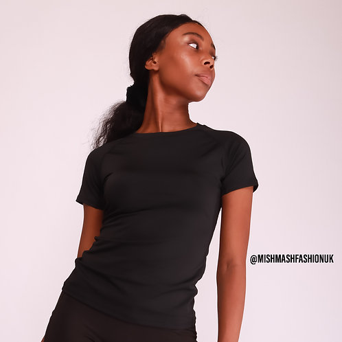 Black Fitness Top