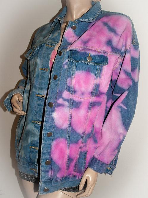 The Cloud Tie-Dye Demin Jacket