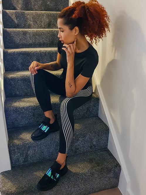 Striped Fitness Leggings