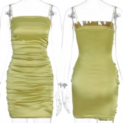 Olive Bodycon Dress