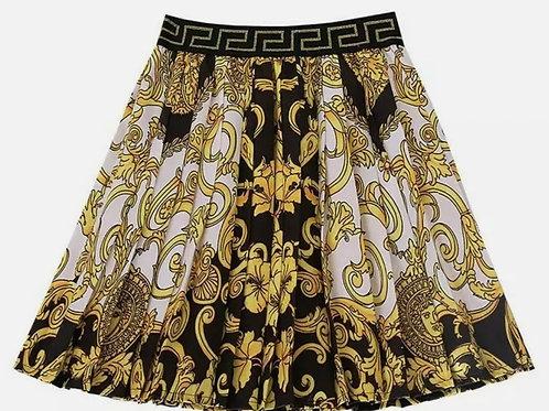 Designer Inspired Pleated Skirt