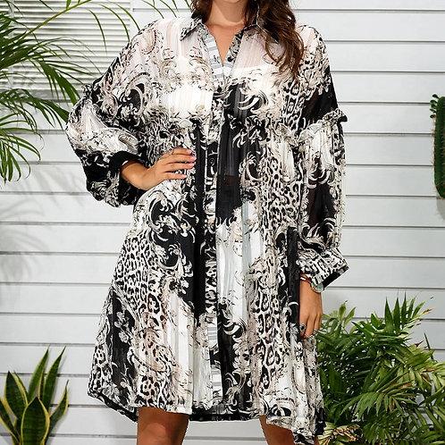 Chiffon Oversized Dress
