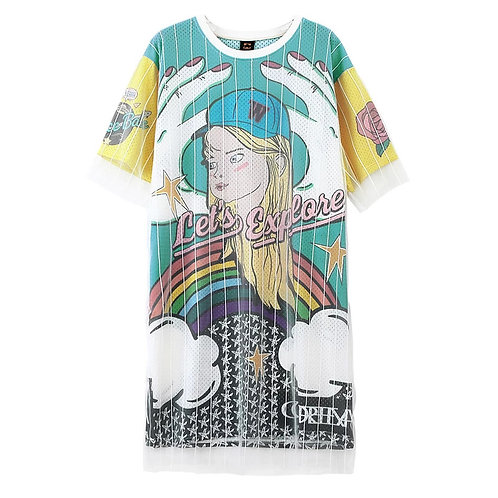 Lets Explore Oversized T-Shirt Dress
