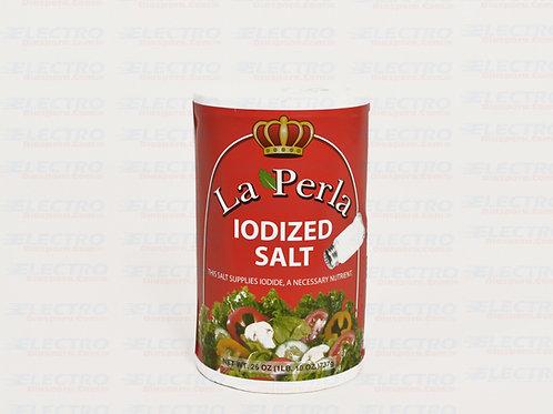 La Perla Iodized Salt 26oz/35