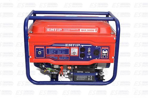 EMTOP Generator 3000w Gasoline (110V/220V)/7547
