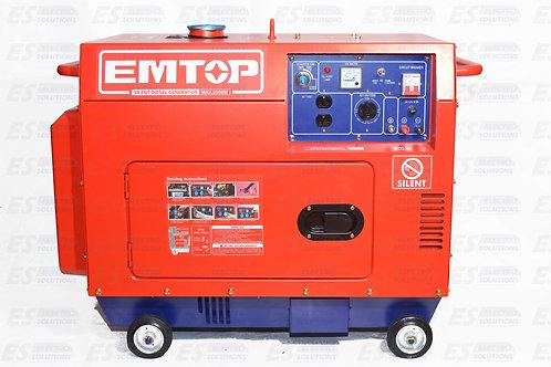 EMTOP 5000W Generator Diesel/7551