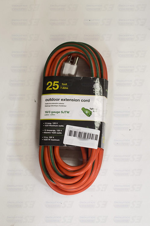 Outdoor 25 Ft Extension Cord/7256