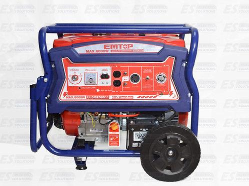 EMTOP 8000w Generator/7550
