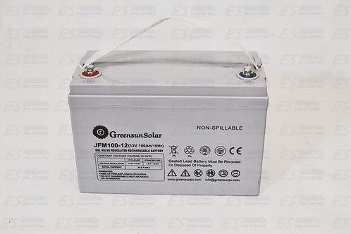 Greensunsolar Battery Gel 12V-100 AH/7502