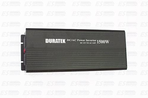 Duratek 1500 W Inverter Inverter Rechargeable/7218