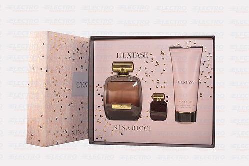 L'Extase Nina Ricci 3PCS 2.7oz ( M )/7160