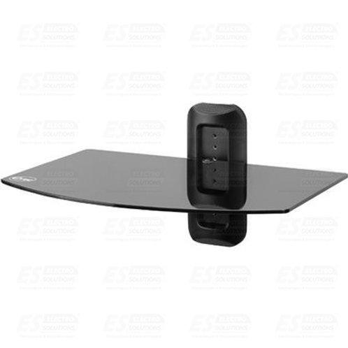 Etec Single Shelf Glass Wallmount /7714