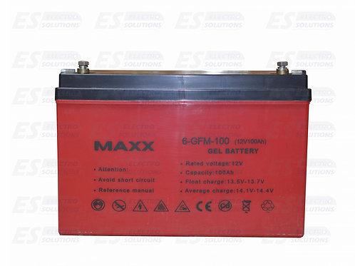 Maxx Battery Gel 12 V/100AhH/7691