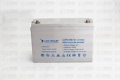Lac Solar Battery Gel 12V 100A/7260