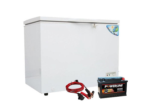 Keg Freezer Electric & Solar White 7.1 CUFT /5846