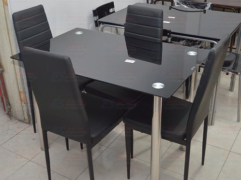 Xacharia LMKZ Glass Dining Set Table /7768