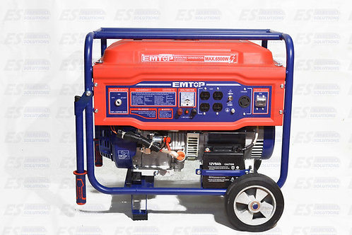 EMTOP 6500W Generator /7549