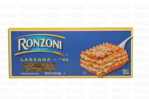 Ronzoni Lasagna 454g /7590