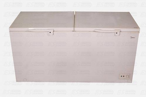 """Midea Freezer 18 CUFT Double Door (WHITE) """"MIHS670C """"/5438"""