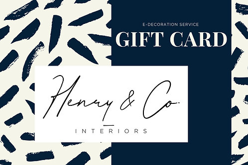 E-Decorating Gift Card
