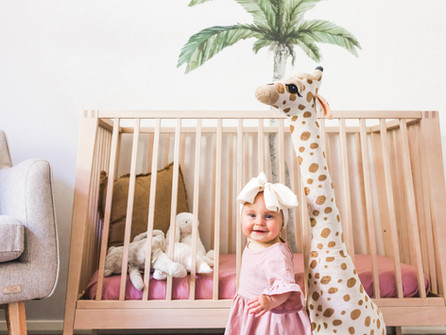 A tropical oasis for baby Charli - Henry and Co Interiors