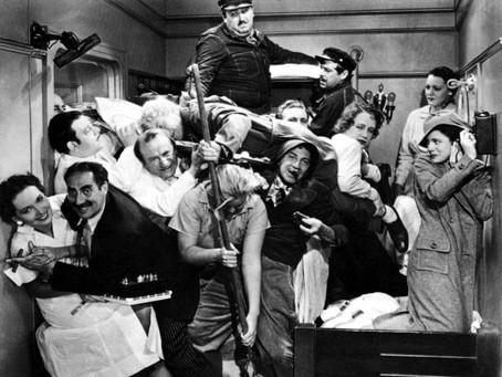 Una noche en la ópera (1935). La parte contratante.