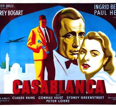 Casblanca Cine Clasico Siglo xx Azul