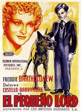 Cartel El pequeño Lord 1936 Cine Clásico