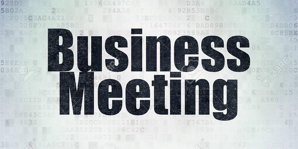 BFS-ERG Business Meeting