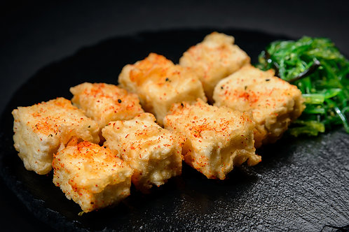 Spicy Fried Temtura Tofu