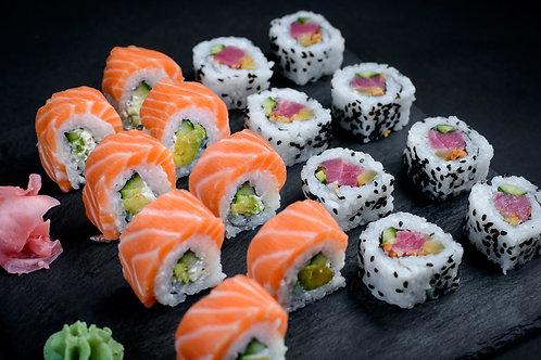 Salmon Tuna Combo - 2 role (16 buc)