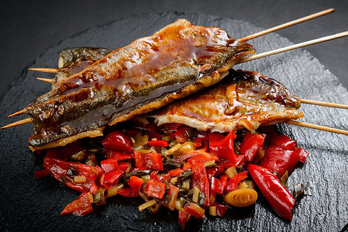 Sweet and sour Sea bass