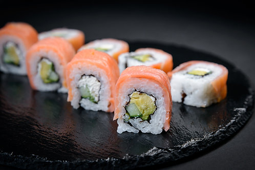 Smoked Salmon Philadelphia Roll