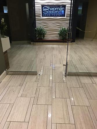 Commercial Business Tile Floors