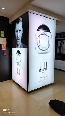Column Backlit Box for Shoppers Stop