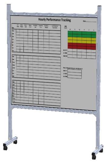4' X 4' White Board Magnetic Display Board