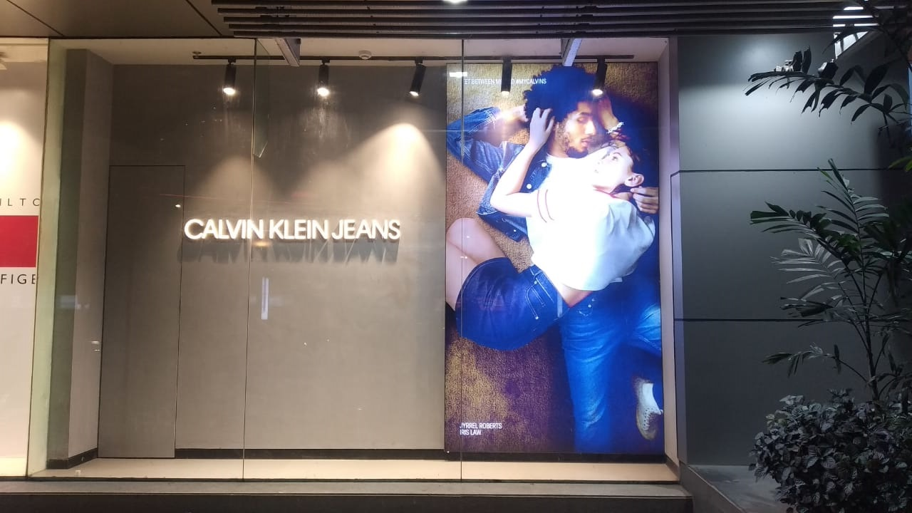 CK Jeans Window Backlit