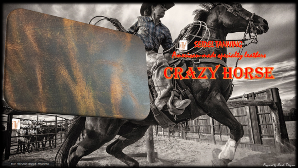 Crazy Horse, Trail ST-4546 5 - 5 1/2 OZ. (OUT OF STOCK)