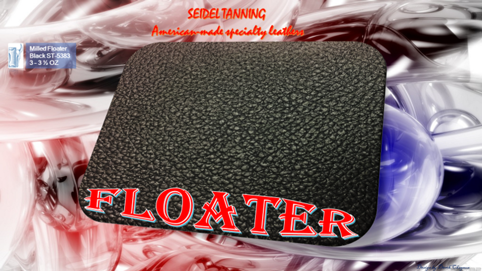 Milled Floater, Black ST-5383 3 - 3 1/2 OZ. (22 sides availablez0