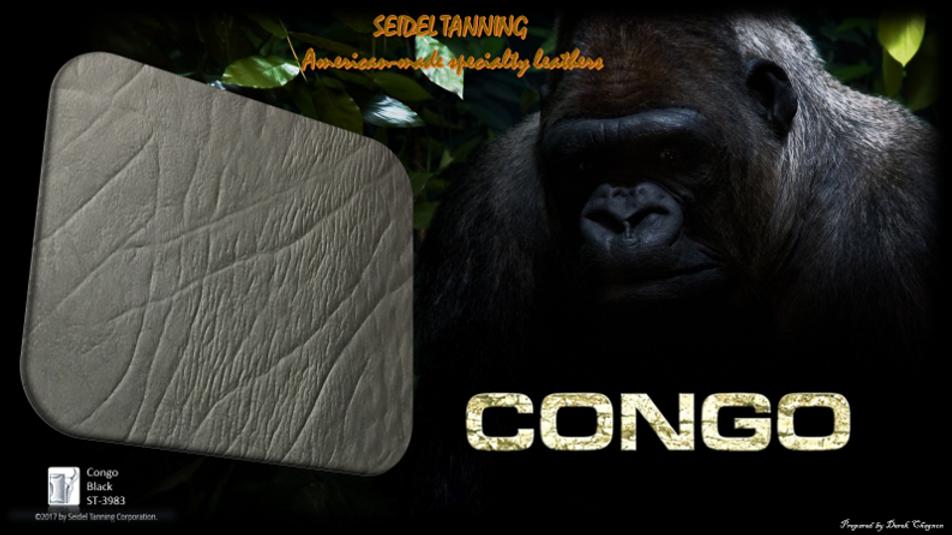 Congo, Black ST-3993 4 1/2 - 5 oz.
