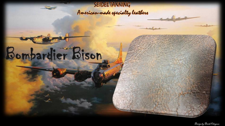 Bombardier Bison, Chocolate ST-4949 4-4 1/2 OZ.