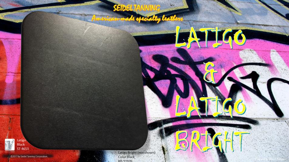 Latigo, Black ST-4733 9-10 OZ (17 Sides)