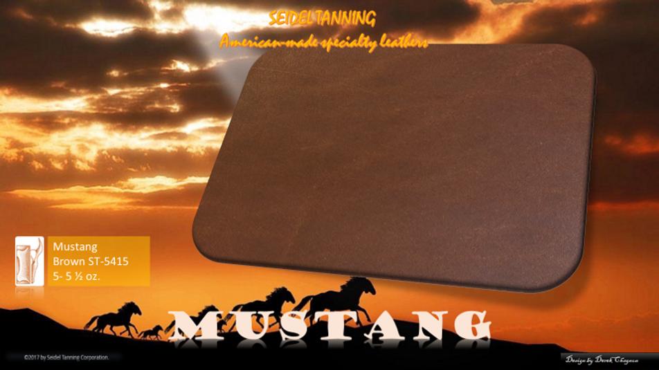 Mustang, Brown ST-5415 5-5 1/2 OZ.