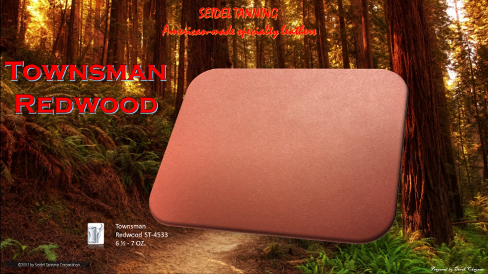 Townsman, Redwood ST-4533 6 1/2 - 7 OZ (99 sides)