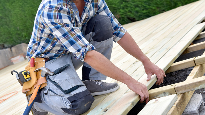 Have you been putting off that deck project?