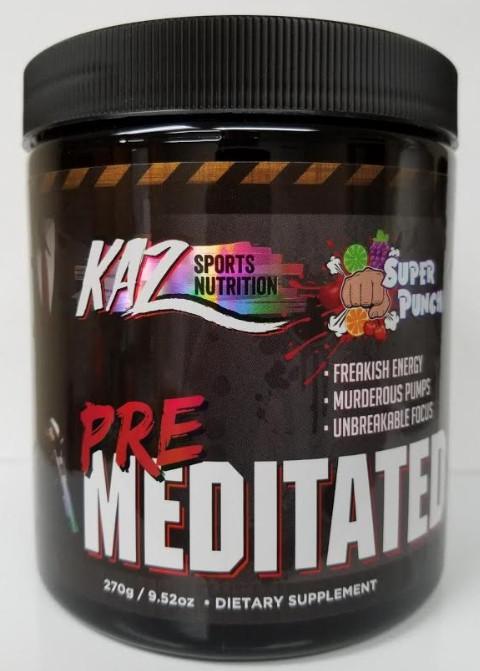 PreMeditated Pre Workout