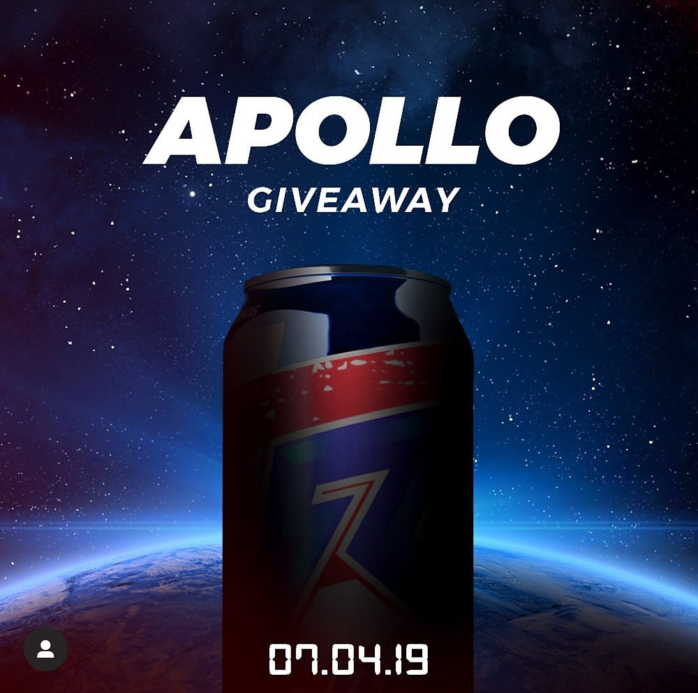 Raze Energy Apollo Coming 7/4/19
