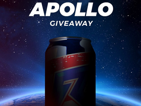 Raze Energy Apollo is Next Flavor!