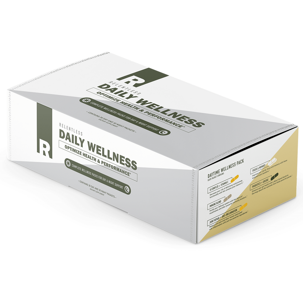 Relentless Daily Wellness Packs